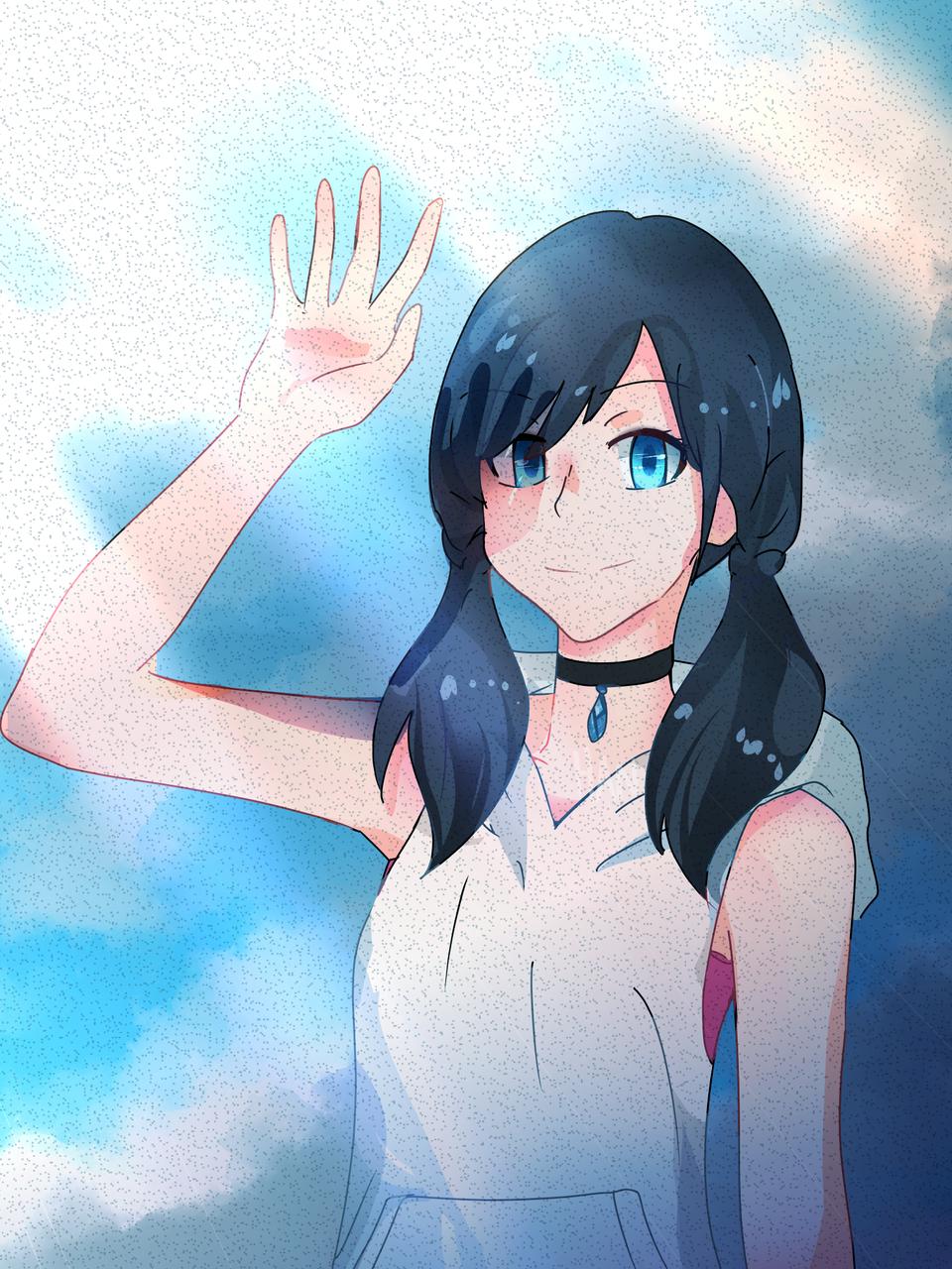 Hina Amano Illust of 23 medibangpaint tenkinoko animegirl