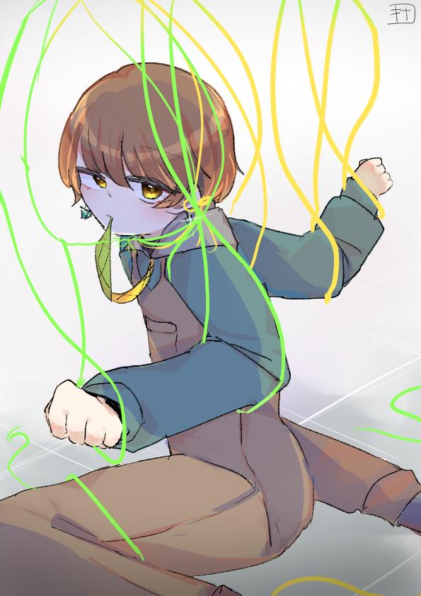代理君 Illust of きなこ豆腐@お味噌汁崇拝 oc illustration 代理 boy 代理ちゃんを愛して!!