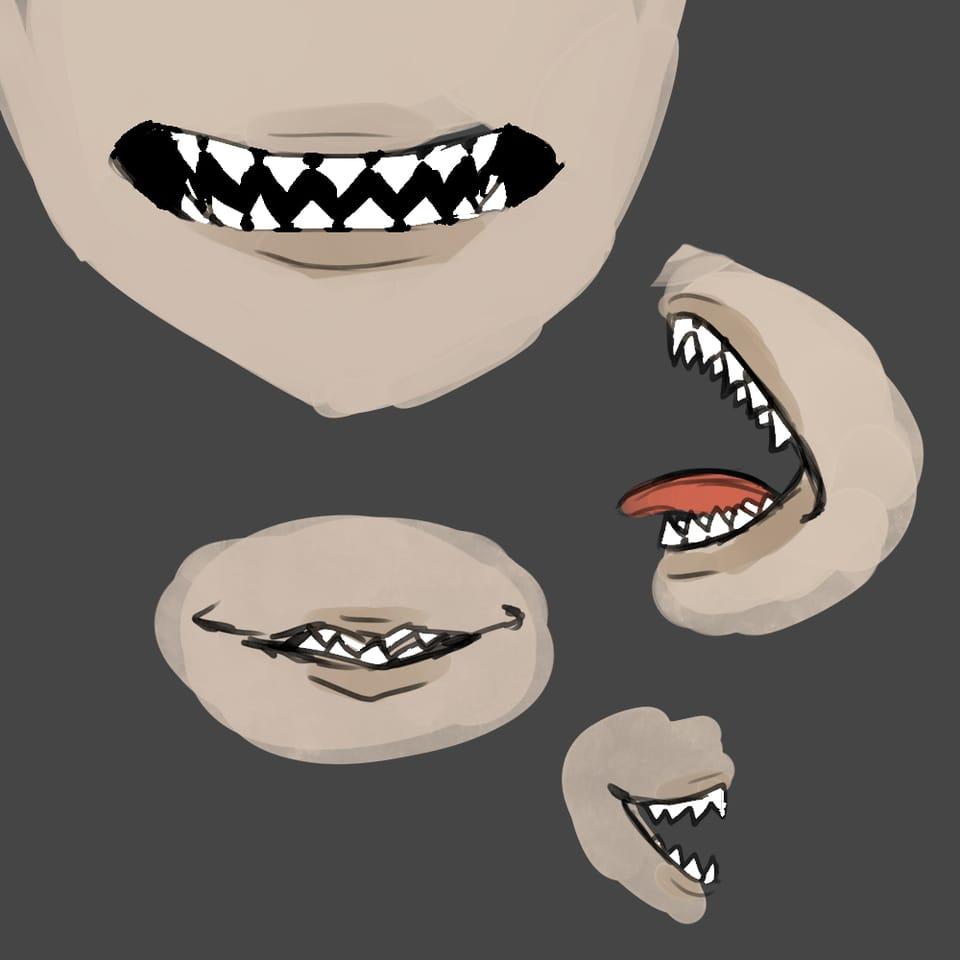 ギザ歯 Illust of おみそ#田舎同盟 おみそのお絵かき広場 CLIPSTUDIOPAINT レッツワンドロ illustration