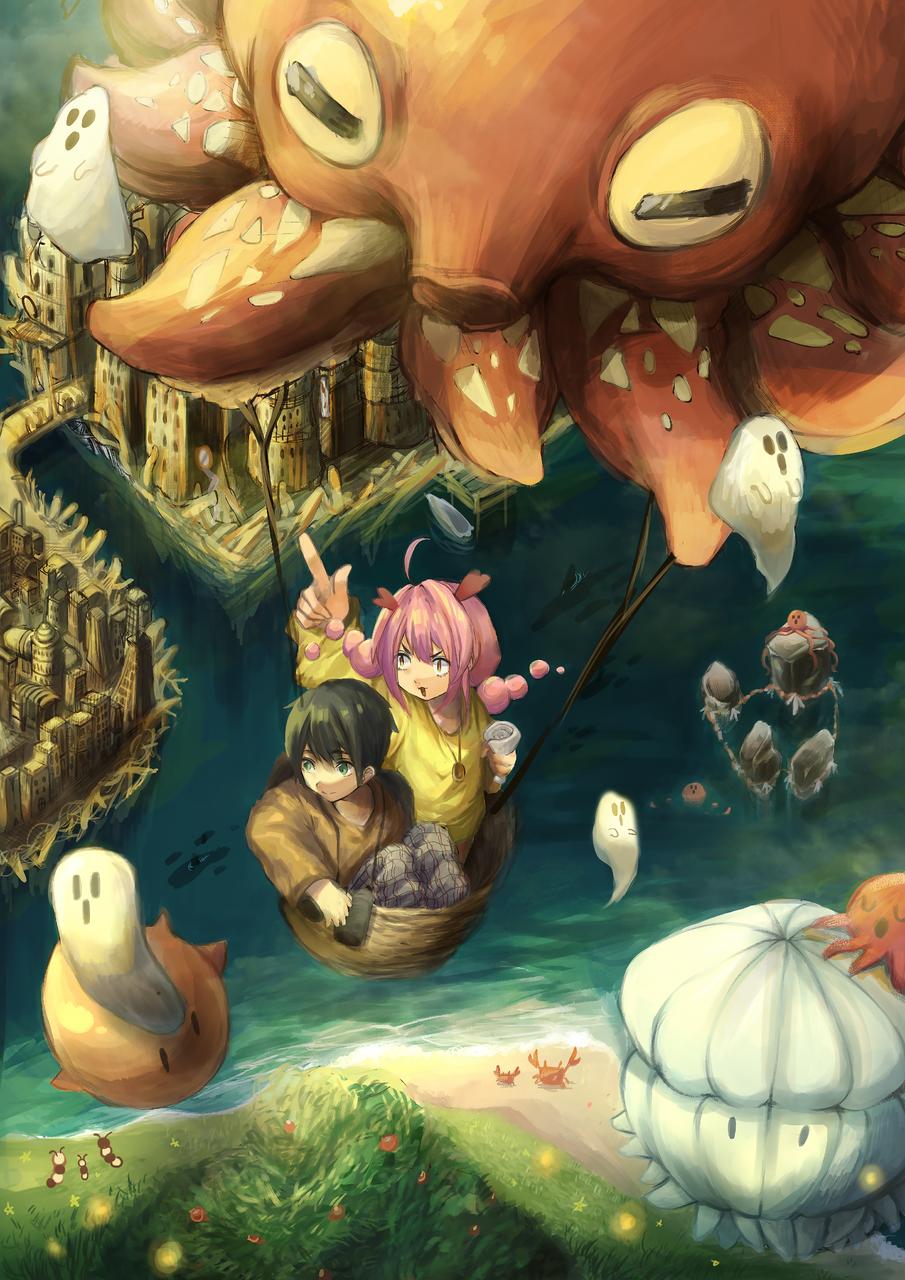 タコタコ大冒険! Illust of 哀しみのCraft Original_Illustration_Contest original oc