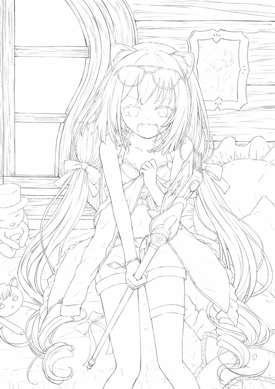 きゃあああー Illust of Shiori Post_Multiple_Images_Contest PrincessConnect!Re:Dive swimsuit キャル