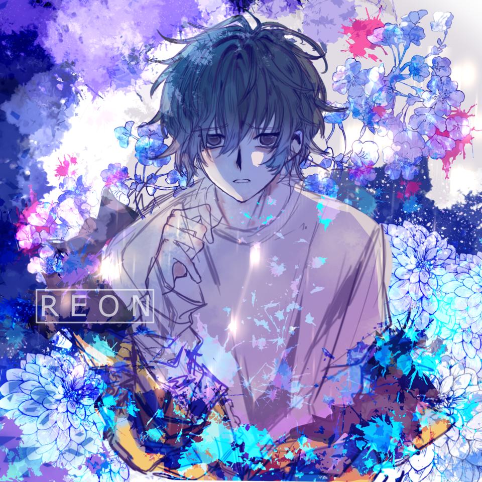 Blue Dreams Illust of R E O N April.2020Contest:Color ARTstreet_Ranking doodle kawaii blue boy cute anime drawing oc medibangpaint original
