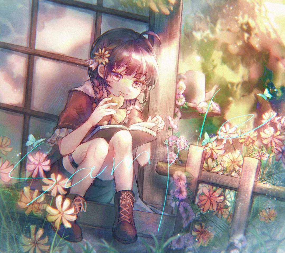 花花 Illust of 姜芜 medibangpaint