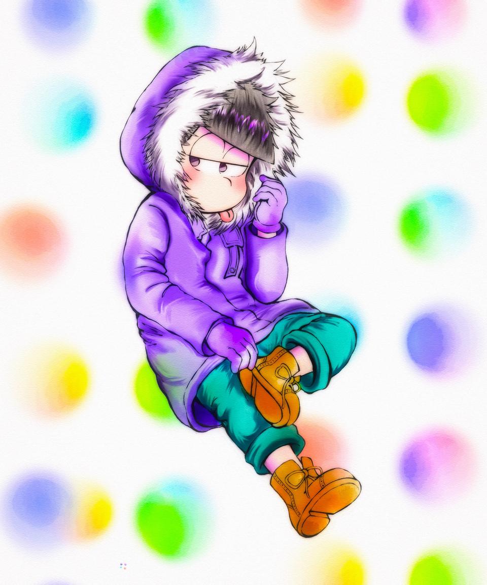 一松 Illust of どんくる medibangpaint Ichimatsu Mr.Osomatsu