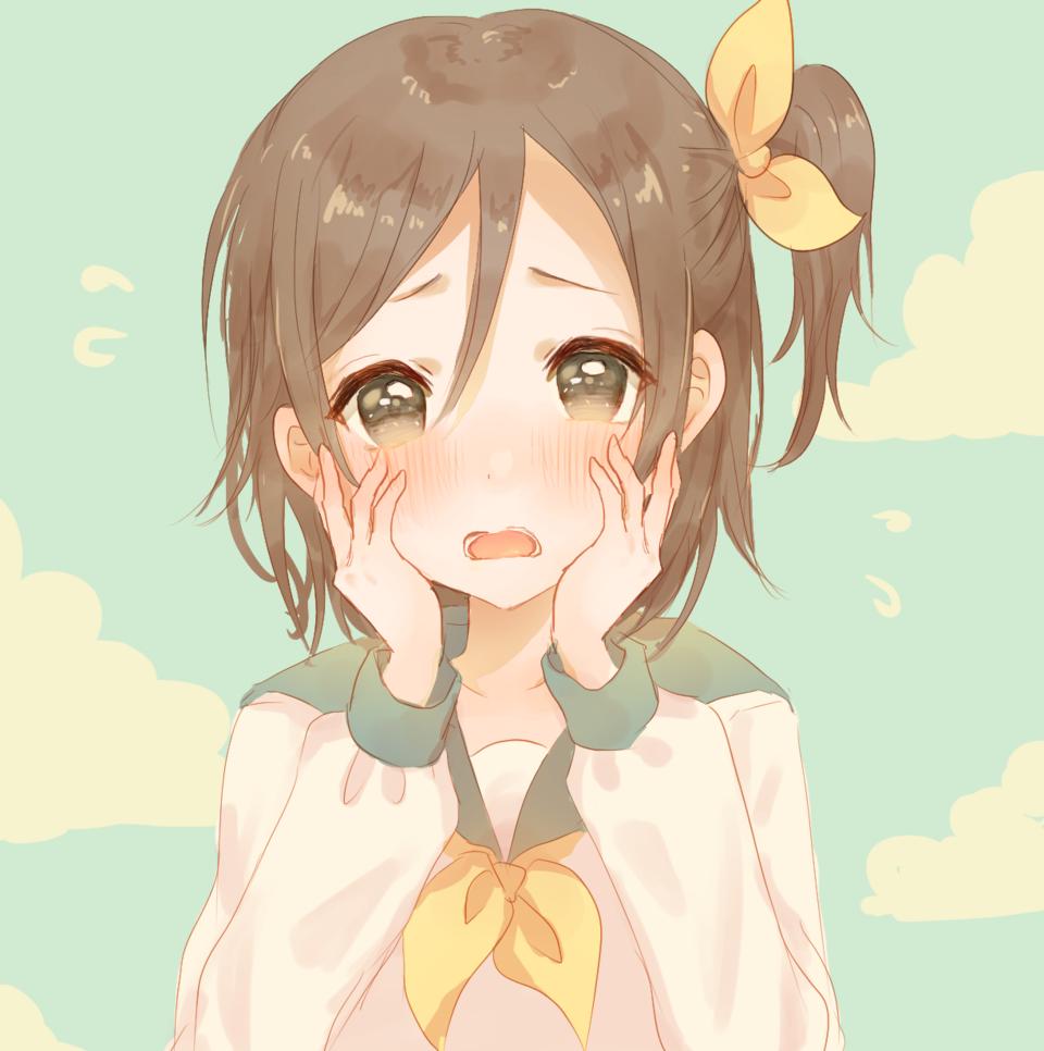 照れ照れ Illust of Peach☆Punch sailor_uniform girl 照れ顔