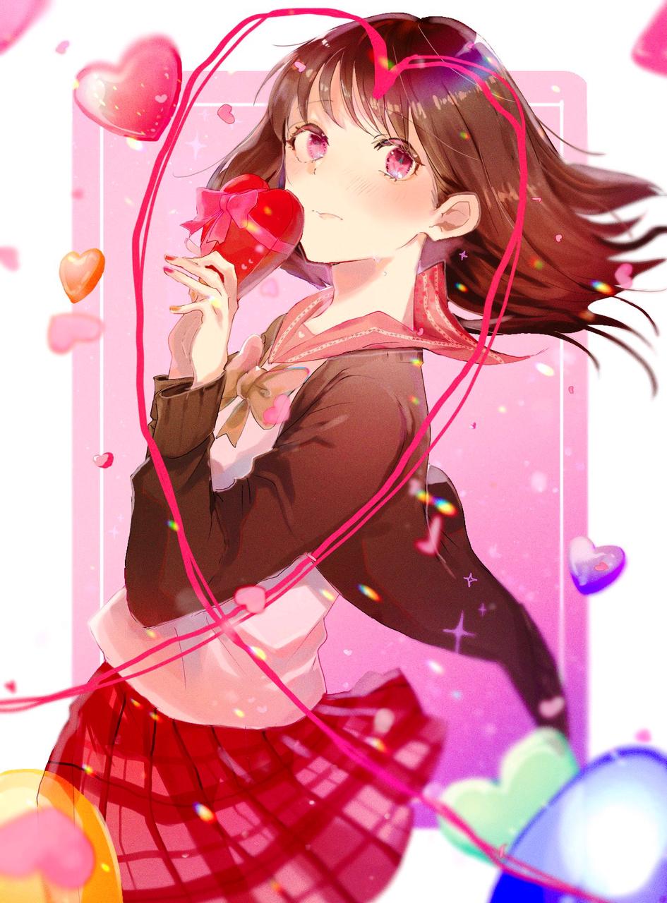 恋空模様 Illust of コマゴ Feb2020:VDAY girl
