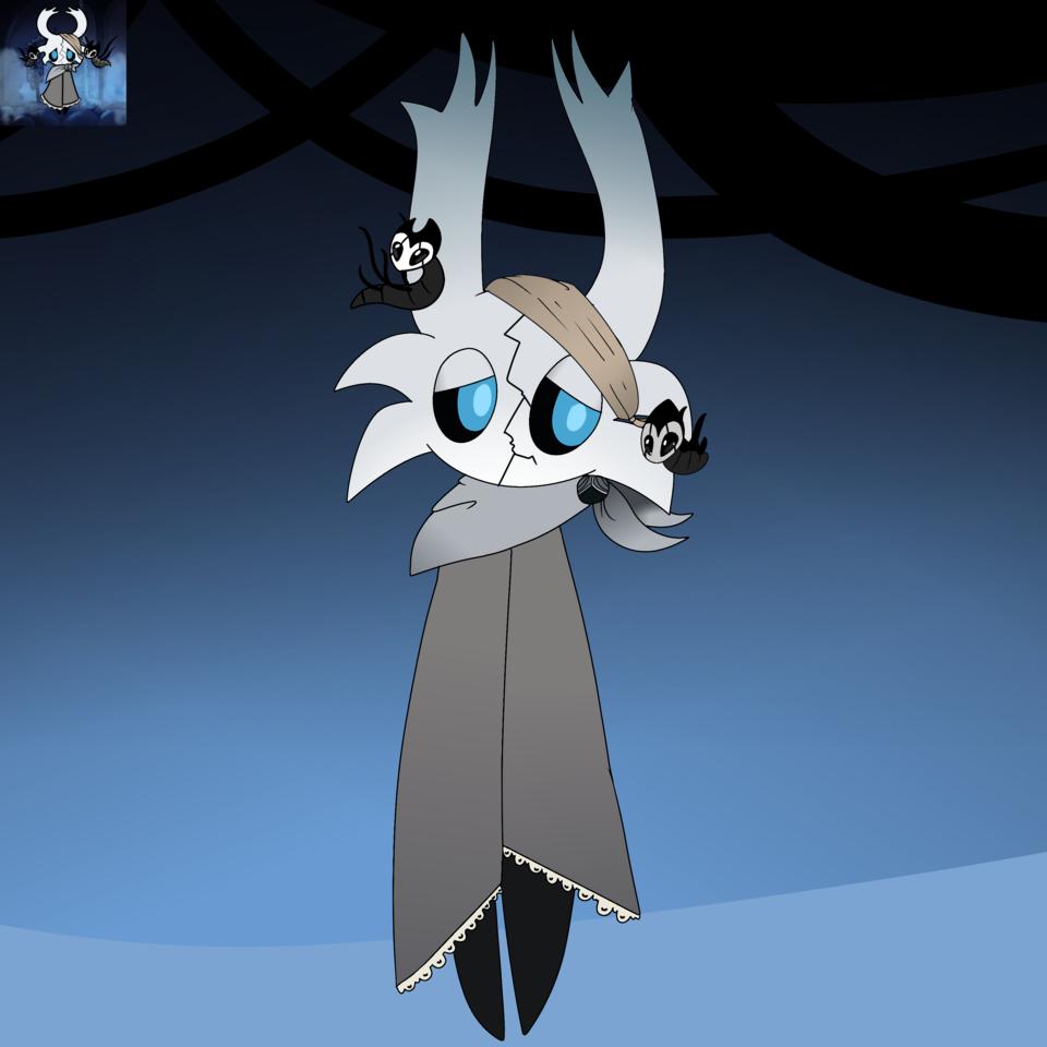 ok I finished it Illust of ❄Ash❄ medibangpaint Knight Hollow HK oc Hollow_Knight vessel
