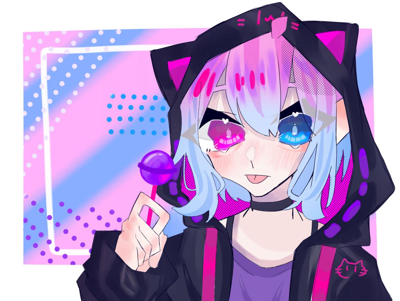じゃじゃーん!! Illust of はんぺん 代理 girl めだまやき digital
