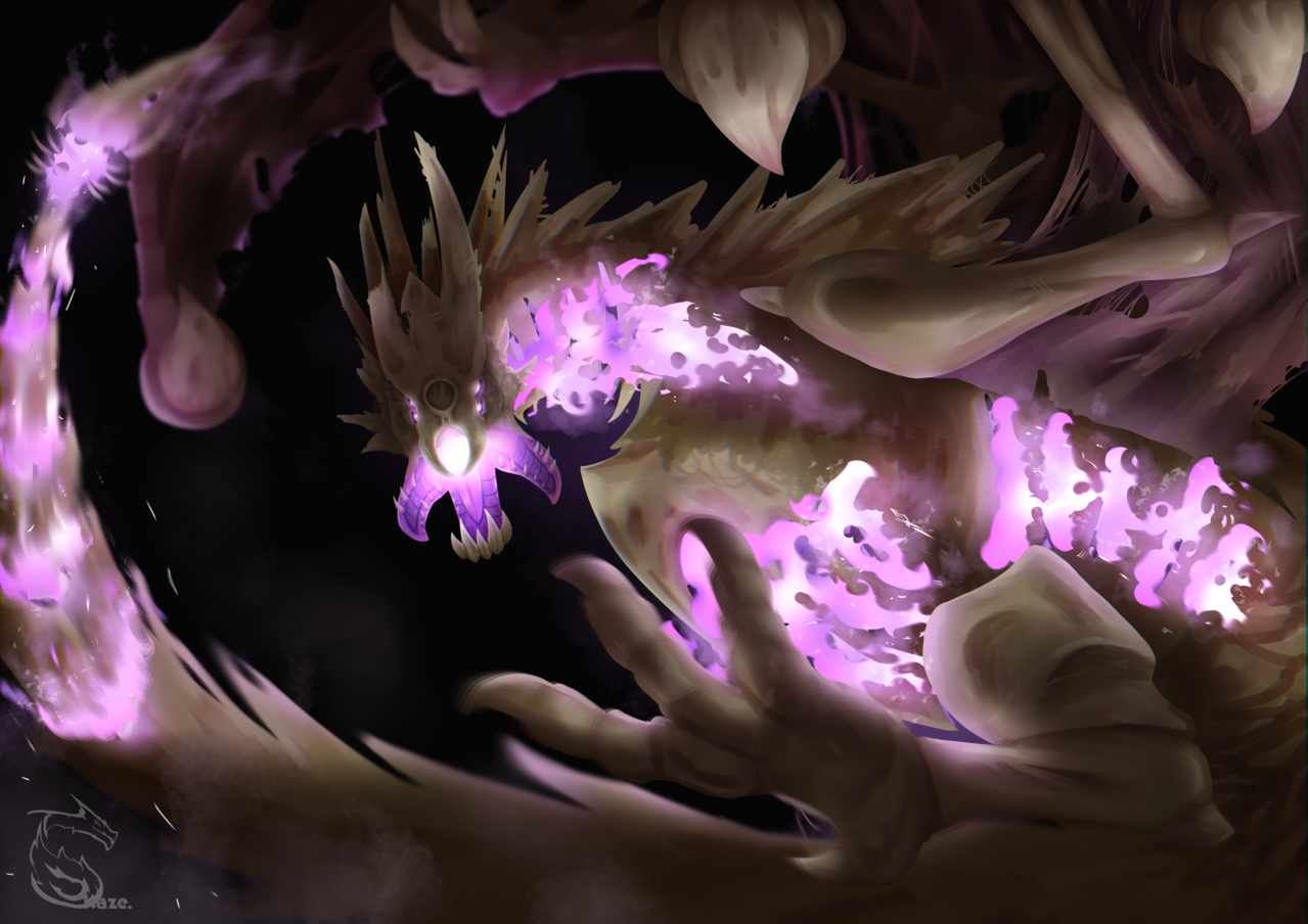 [AT] Skeleton Dragon