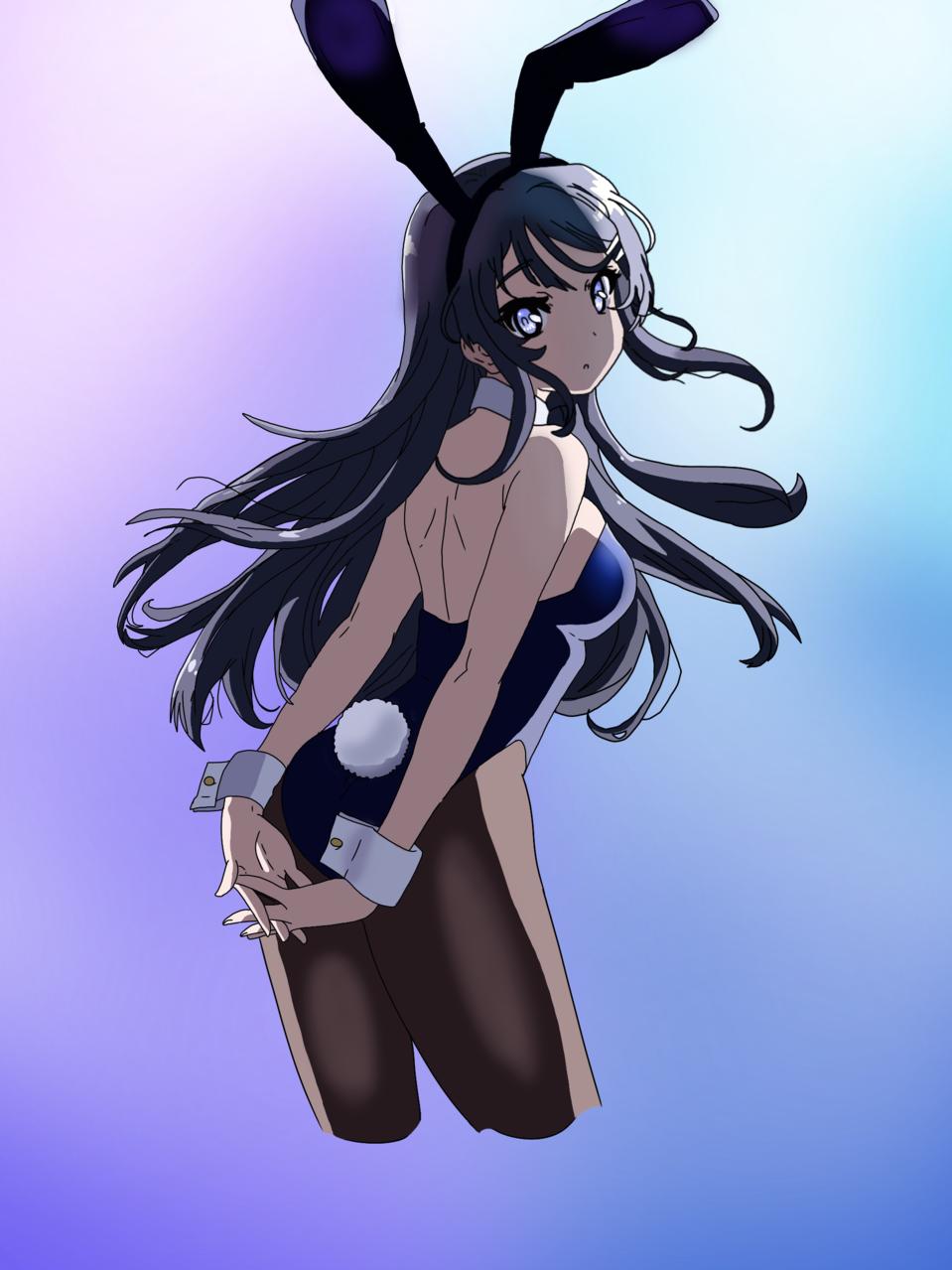 Bunny Girl Senpai{With Tutorial!} Illust of 🌸~Sakura~🌸~Cherry blossom Mode The_Challengers tutorial fanart bunnygirl kawaii anime SHINee animegirl