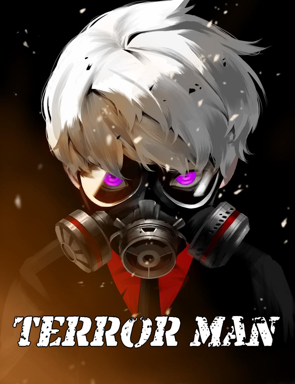 Illust of emily medibangpaint 銀髪 ガスマスク