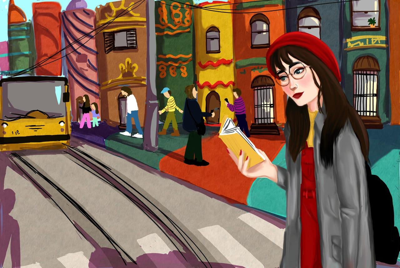 book world Illust of zaom ART_street_Illustration_Book_Contest