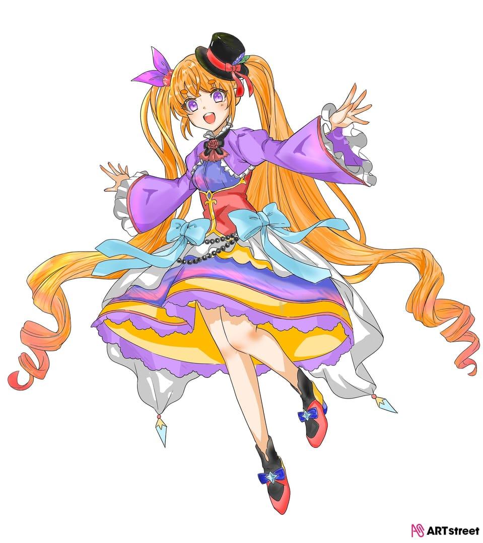 無題!~ Illust of Sakura ColoringContest woman girl 女