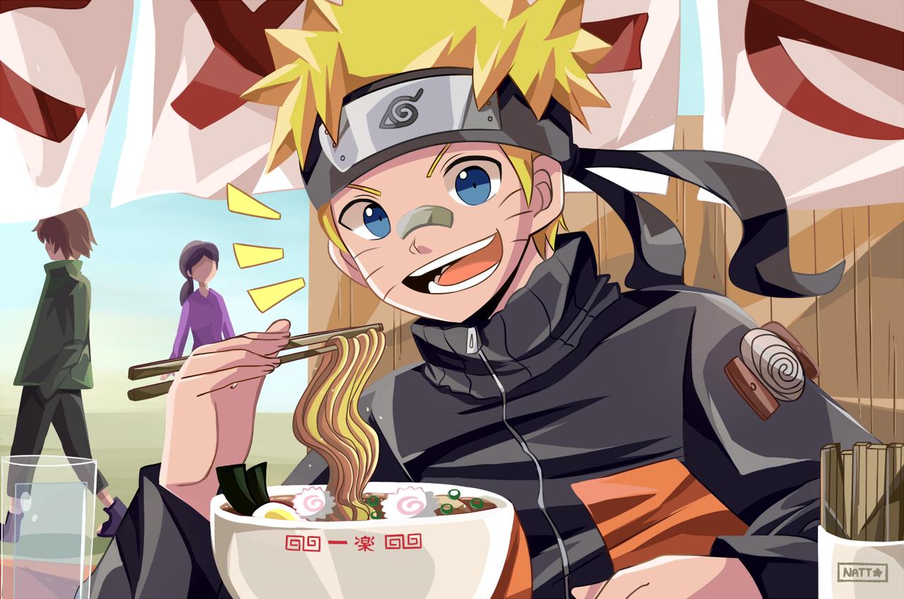 Naruto Uzumaki Illust of Natt 1stjumpillust fanartdigital fanartnarutouzumaki dibujodigital digital Ramen NARUTO UzumakiNaruto