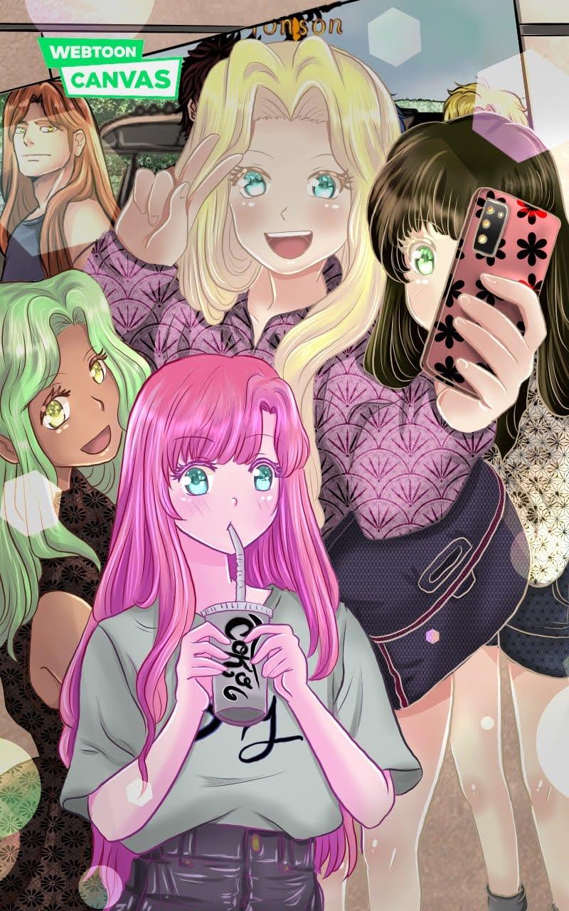 Tonson manga  Illust of Diana January2021_Contest:OC Ilustration illustration Tendencia like art Followers