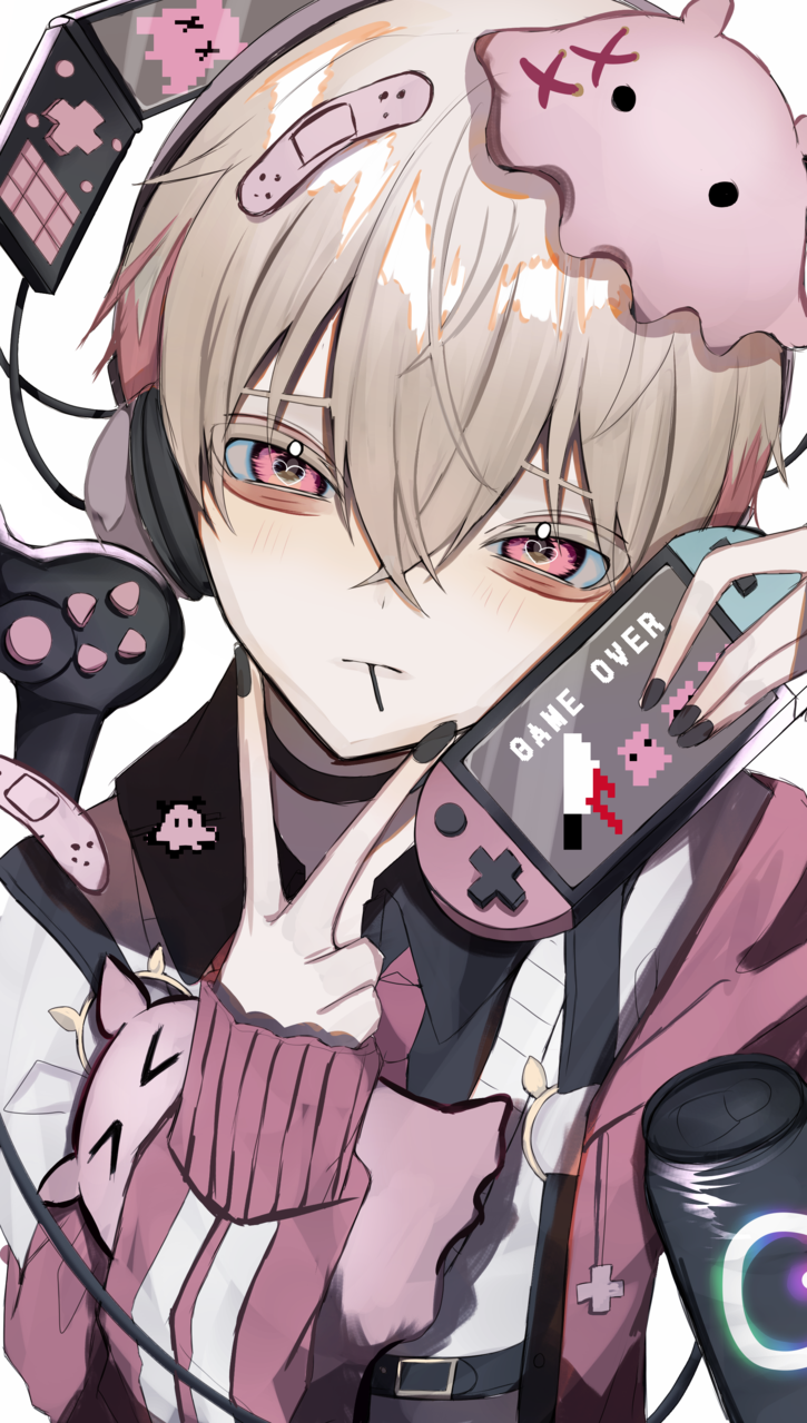Illust of つぶ boy original oc game Medibang