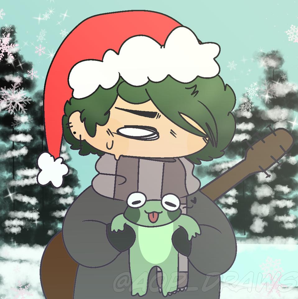🌲a froggy Christmas 🌲