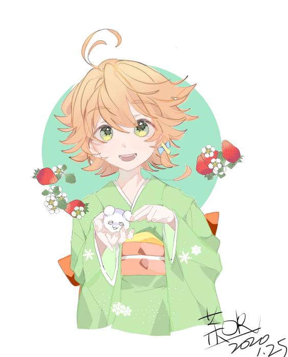摸鱼(~) Illust of 原生茉莉茶 medibangpaint kimono girl