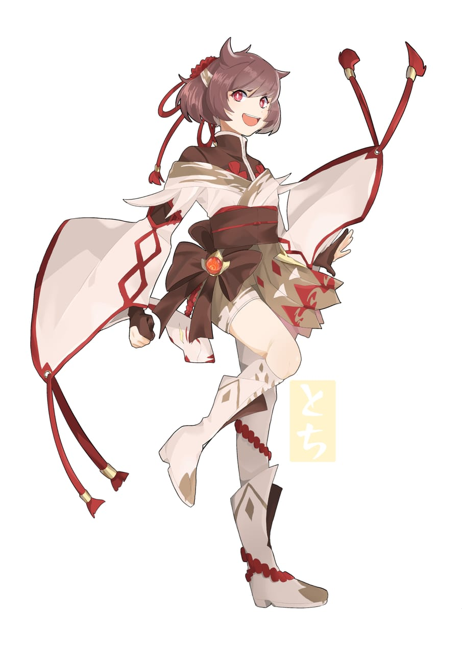 Genshin Impact OC Illust of Tochi sketch drawing oc art doodle GenshinImpact manga