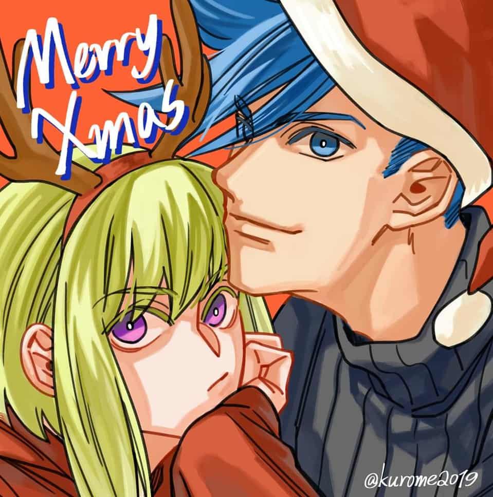 Merry Christmas🎄 Illust of KUROME giftyouwant ガロ・ティモス Promare LioFotia