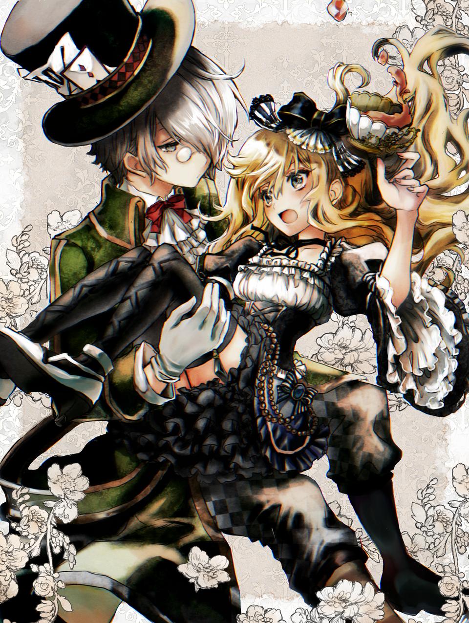 とある国のアリス ~ver2~ Illust of n スマホ描き blonde Alice ふしぎの国のアリス medibangpaint