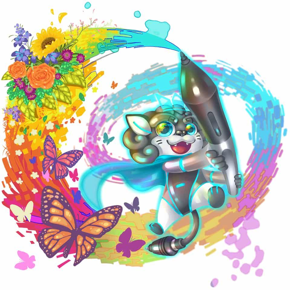 Happy Fantasy Nature Illust of sayfull HuionDesign