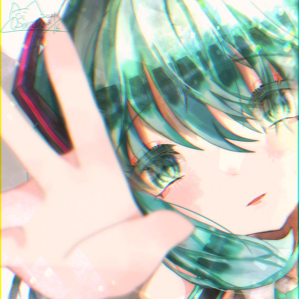 きらきら Illust of OSora キラキラ hatsunemiku medbangpaint VOCALOID