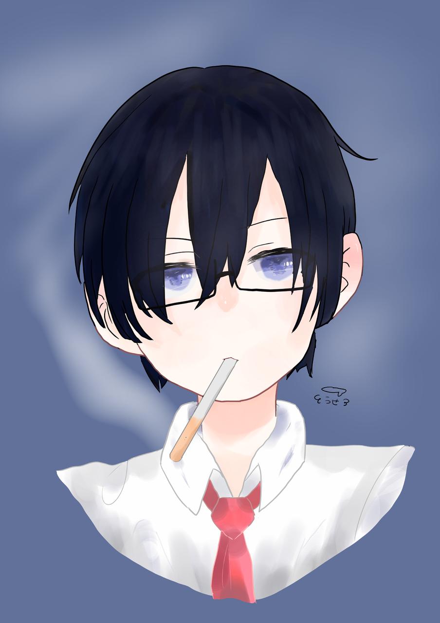 鬱先生! Illust of @u-tan boy 初心者 ○○の主役は我々だ! tobacco 鬱先生