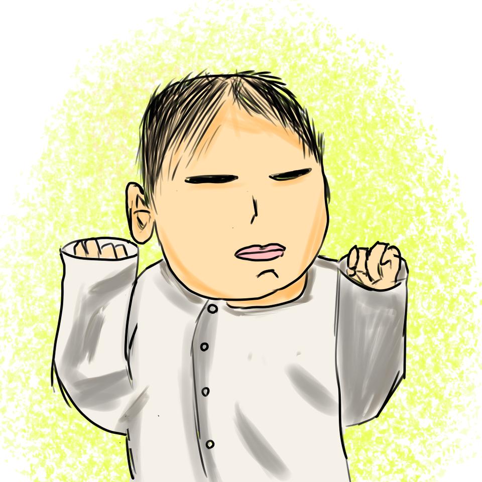レッツ!ワンドロフライデー‼︎「天使」最近産まれた長男 Illust of tsunepiko@MediBang レッツワンドロ angel medibangpaint
