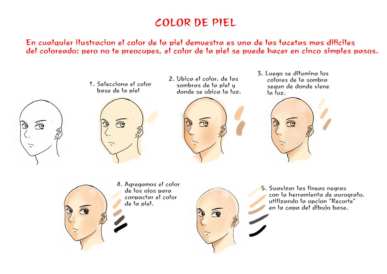 Tutorial para colorear piel