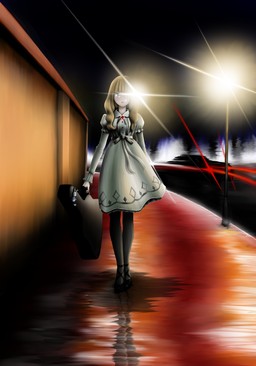 あたしの運命 (My Destiny) Illust of Duosomnia carole&tuesday_fan illustration Abstract girl manga original art drawing medibangpaint cute anime