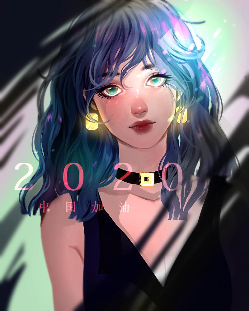 2020 Illust of 画江湖 medibangpaint girl