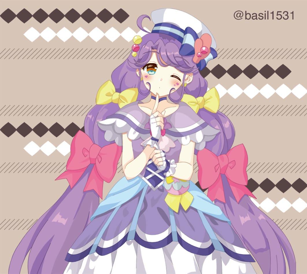 キュアコーラル Illust of 柚月バジル PrettyCure キュアコーラル
