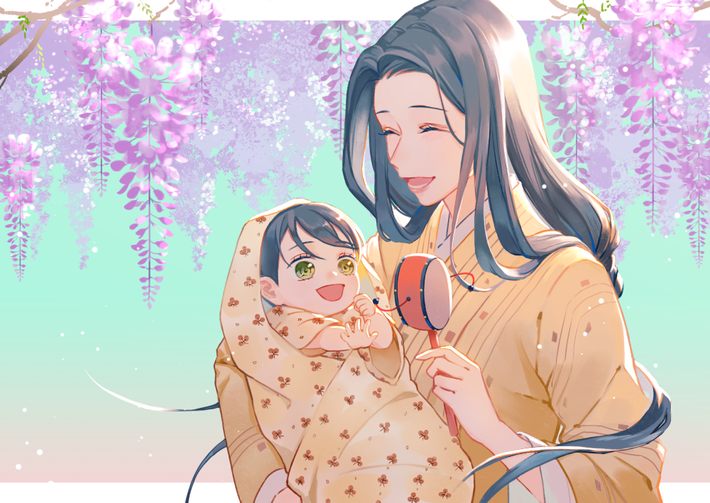 媽媽會守護你的 Illust of 瑞果Reiguo 嘴平琴葉 KimetsunoYaiba HashibiraInosuke