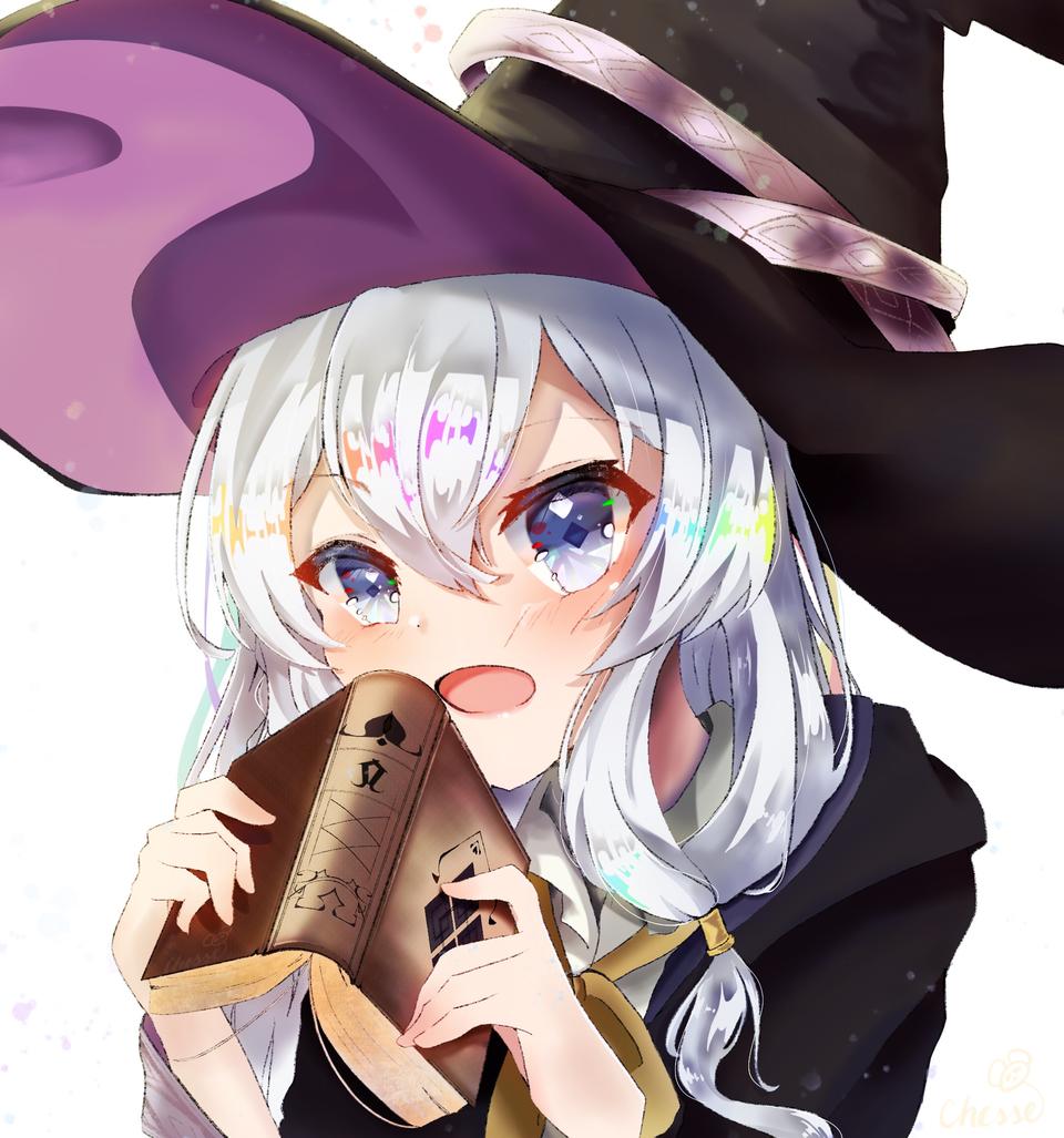 イレイナ Illust of Cheesetart magic witch 魔女の旅 イレイナ medibangpaint girl wanderingwitch Elaina journey