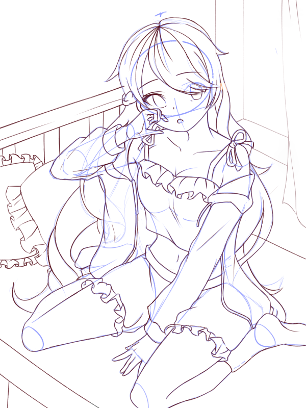 lineart - final Illust of ILignジュール Post_Multiple_Images_Contest