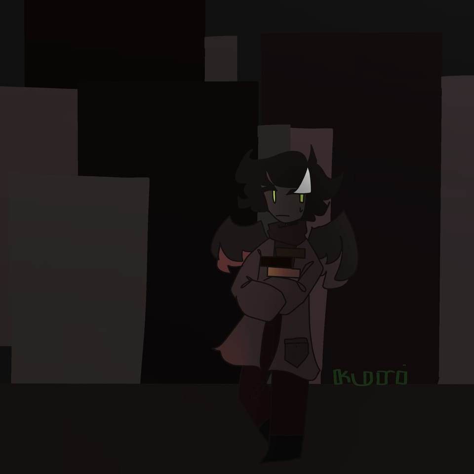 A light under the dark Illust of DreamiiKuri   Drèam mode©️ oc drawing anime