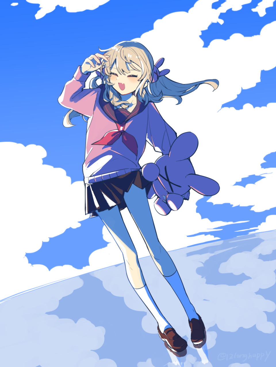 アマカミナトリ Illust of mn 名取さな girl virtual_YouTuber