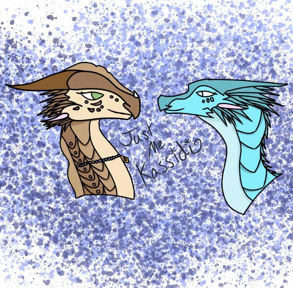 Pfp for JustMeKassidi Illust of Warriorbeast WoF oc MediBang JustMeKassidi Fennec Caribou
