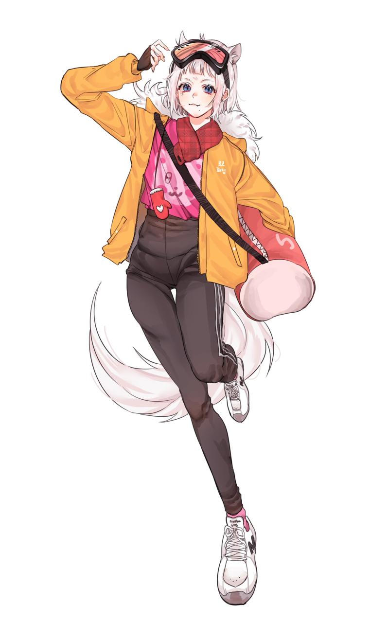 커뮤띨게요 Illust of 하럄님 medibangpaint animal_ears girl