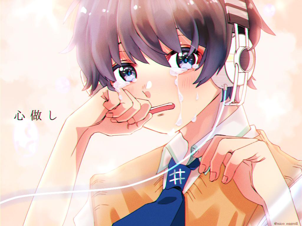空詩音レミ Illust of eggroll☆ illustration 描いてみた ibispaint boy 仕事絵 依頼絵 ボカロ曲
