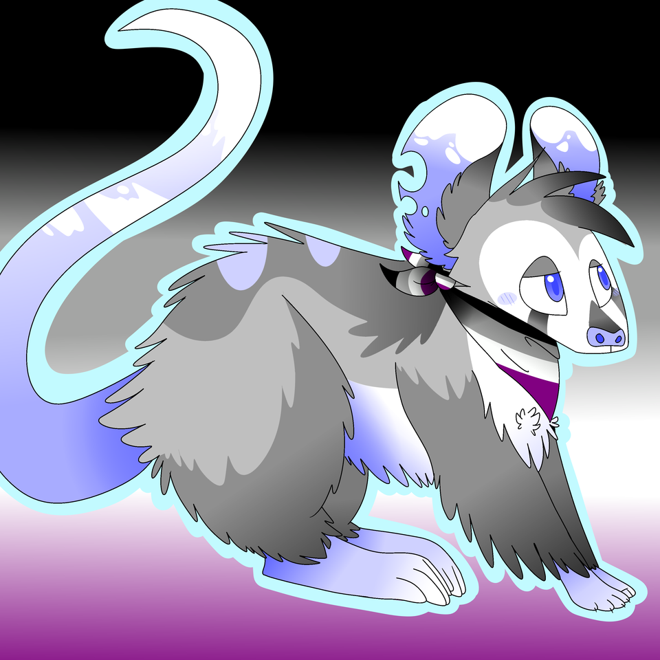 asexual possum Illust of ❄Ash❄ medibangpaint