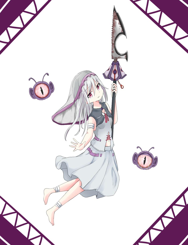 罪ちゃん Illust of 貞子の孫(名探偵) oc 武器 kawaii girl