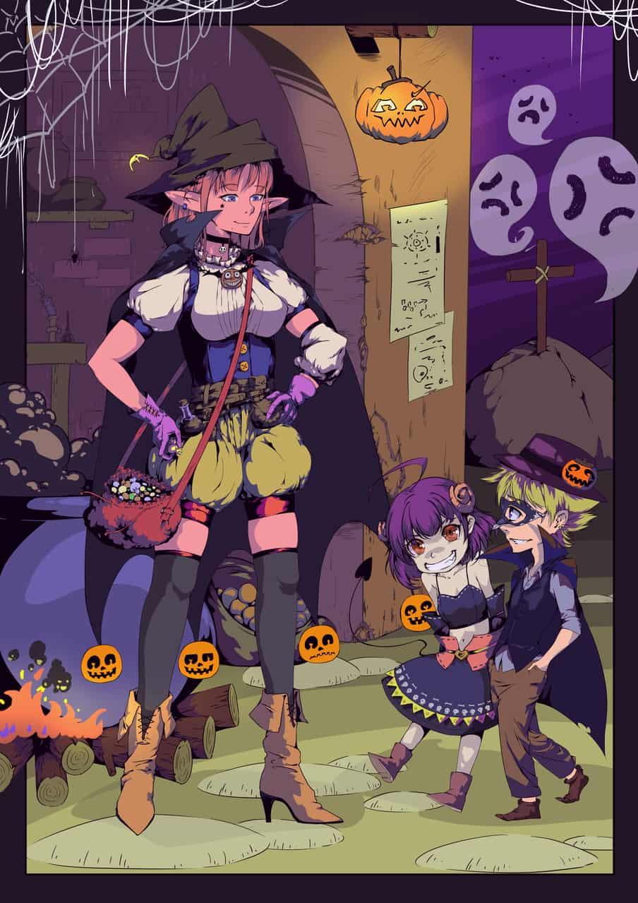 糖果或捣蛋 Illust of jemo Oct.2019Contest Halloween
