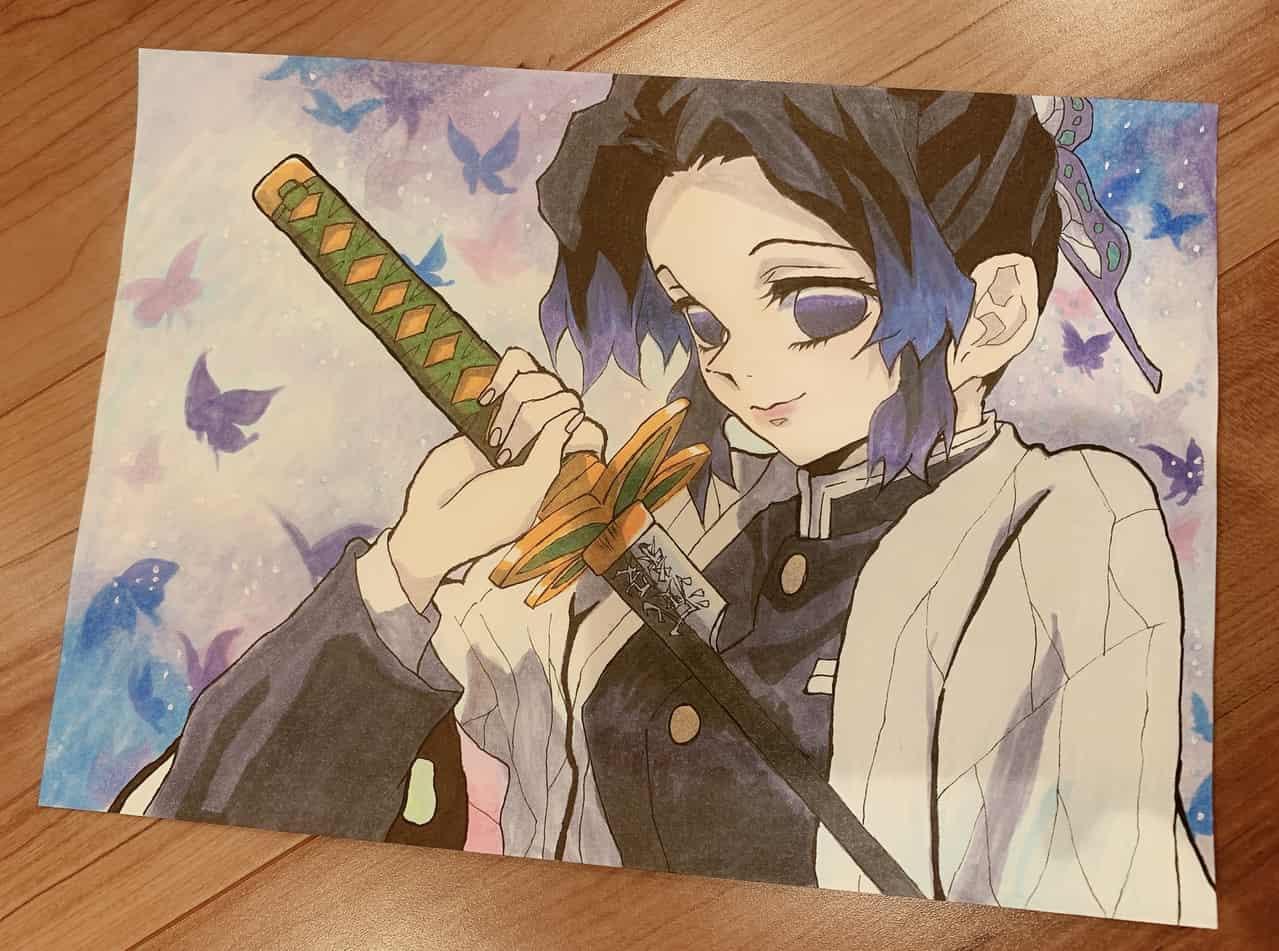胡蝶しのぶ Illust of annsan DemonSlayerFanartContest KimetsunoYaiba KochouShinobu