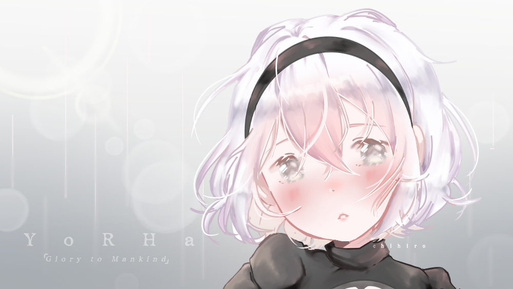 2B   NieR Automata Illust of Chi medibangpaint NieR:Automata anime