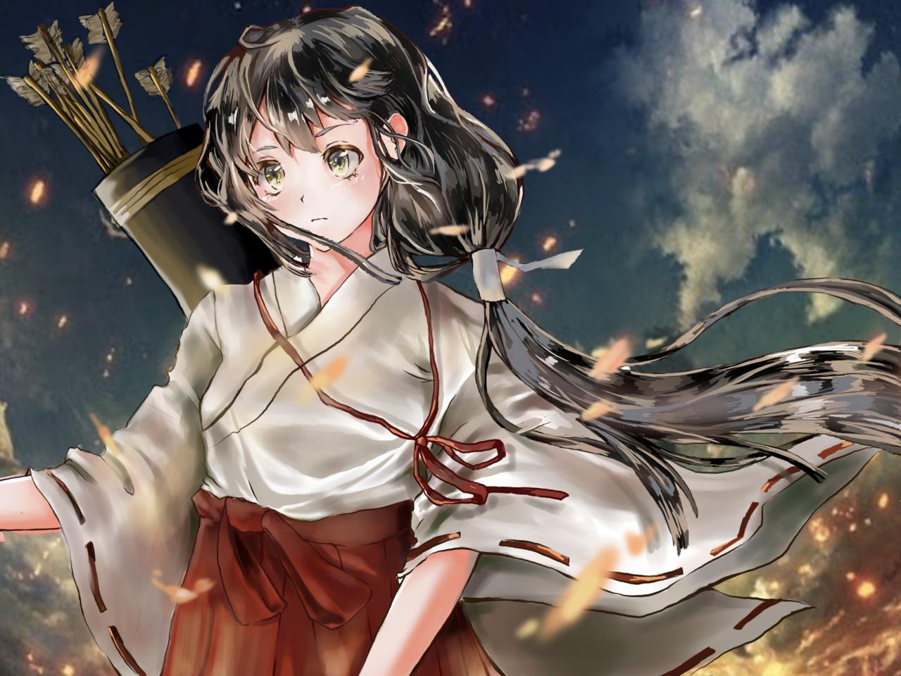 桔梗 Illust of ドドドミノ ❥ medibangpaint 和服女子 和服少女 Inuyasha Inuyasha.