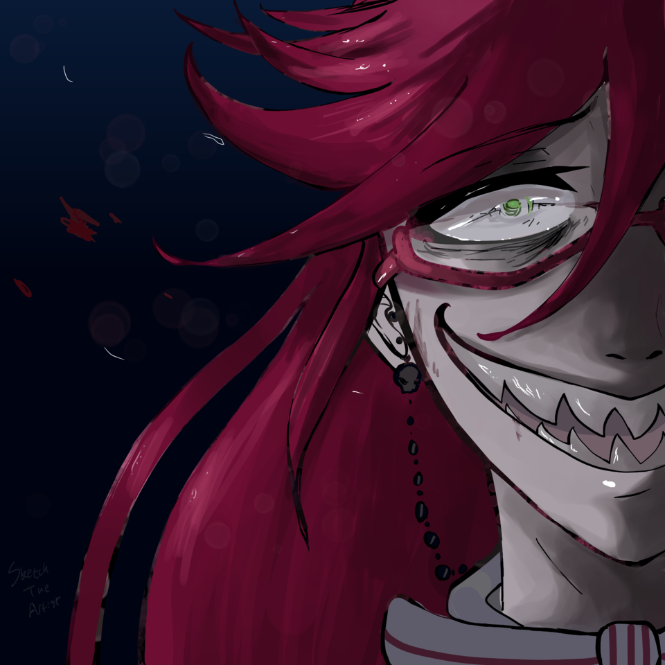 Grell Sutcliff - Shading/Flare Practice