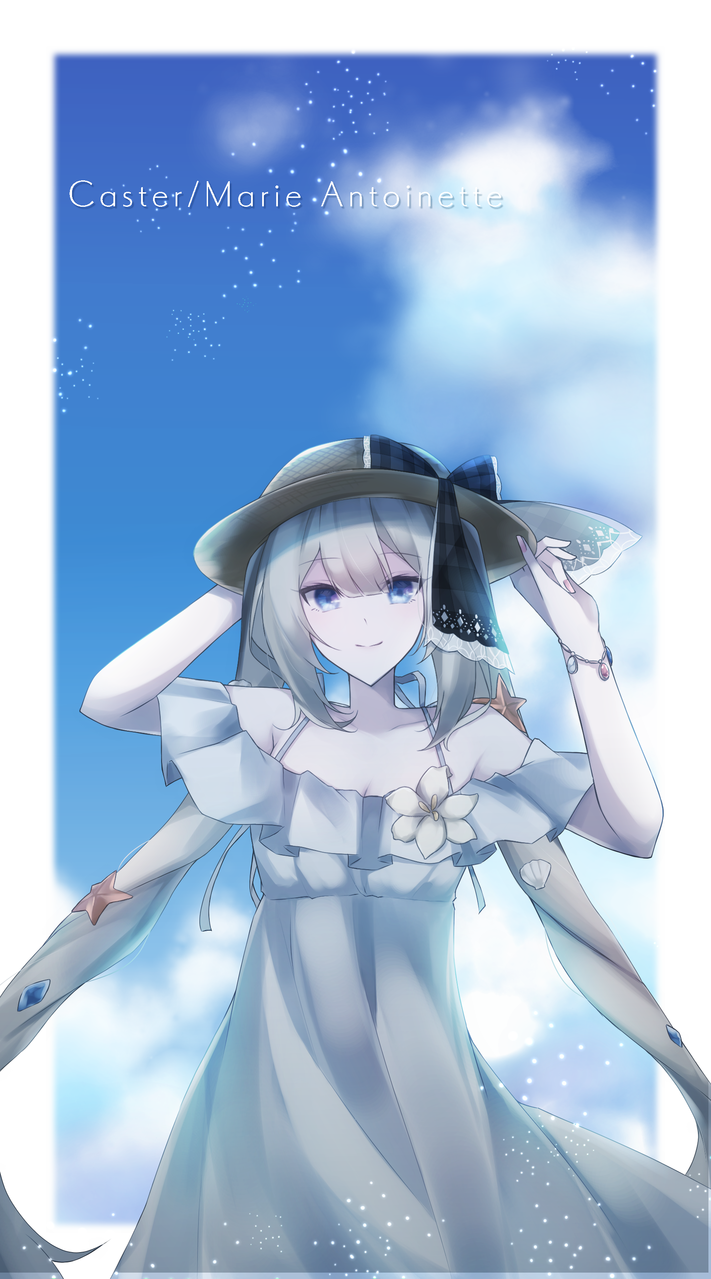マリーちゃん Illust of 四葉よあ medibangpaint Fate/GrandOrder マリー・アントワネット(Fate)