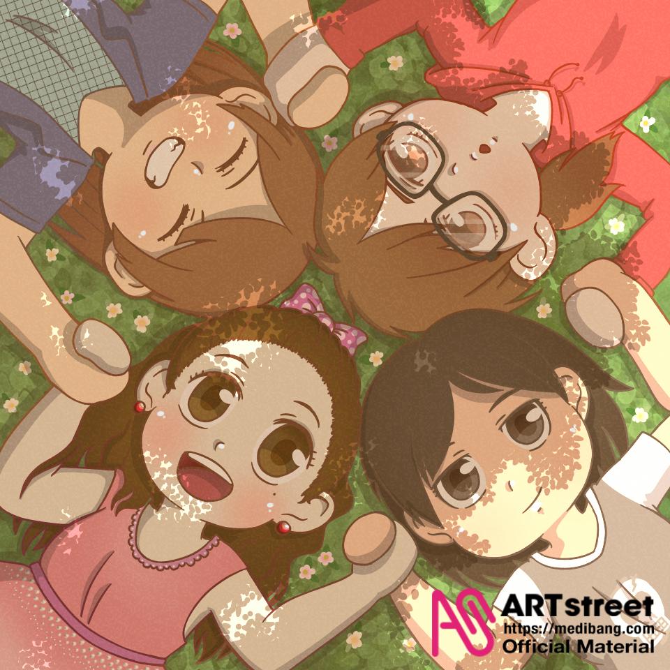 Amigas - Concurso de Ilustración Illust of Inueri tracedrawing chibi medibangpaint Trace&Draw【Official】